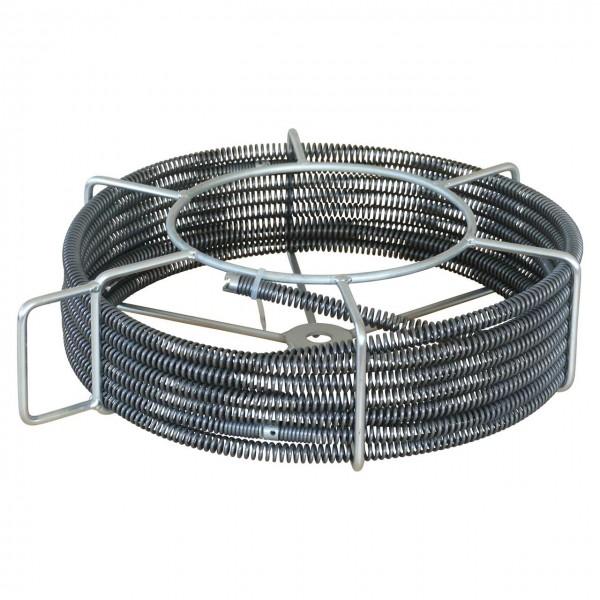 5 Rohrreinigungsspiralen Ø 16mm im Tragekorb