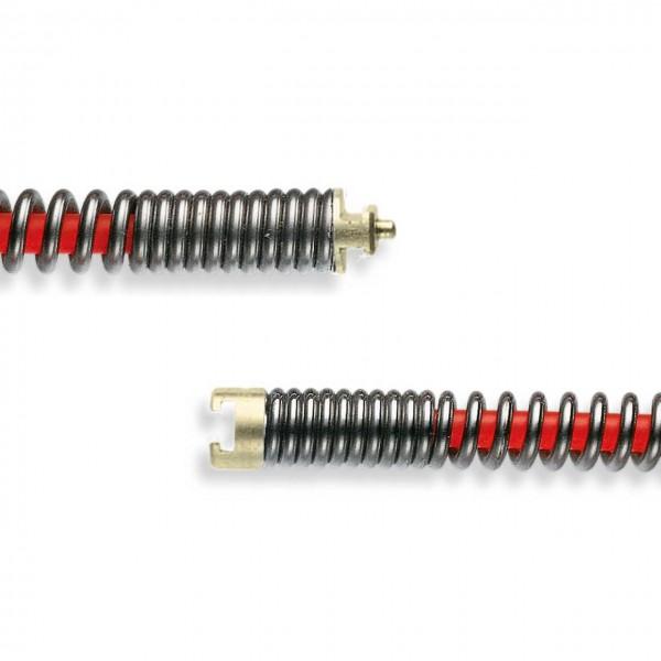 """rak Rohrreinigungsspirale mit roter Seele 22mm (7/8"""")"""