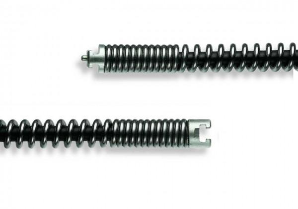 """Rohrreinigungsspirale mit Kern SMK 22mm / 7/8"""" T-Nut"""