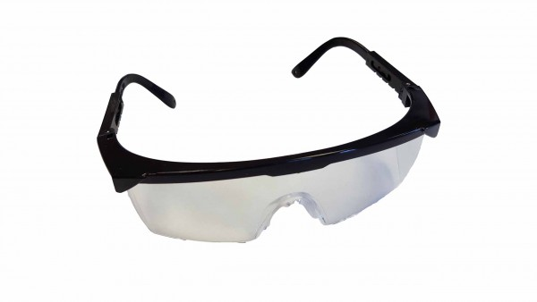Safety goggles to drain cleaning