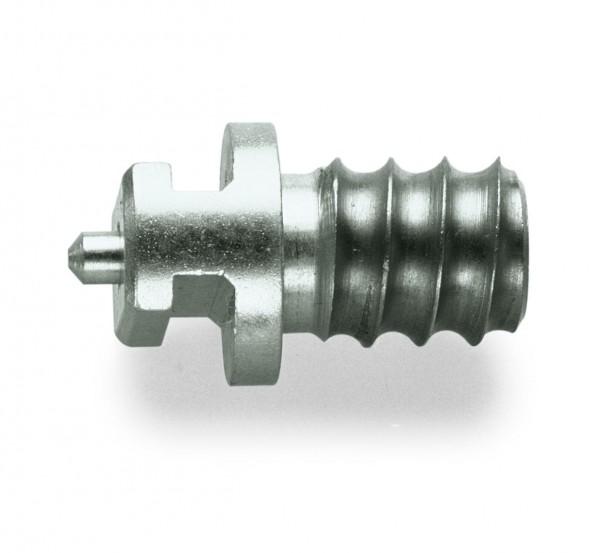 Spiralenkupplung T-Nut positiv für Standard & SMK Rohrreinigungsspiralen