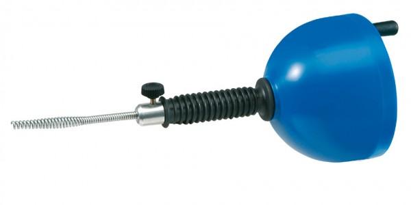 Rohrreinigungsgerät mit Spirale 6mm x 4,5m & Bohrmaschinen-Anschluss