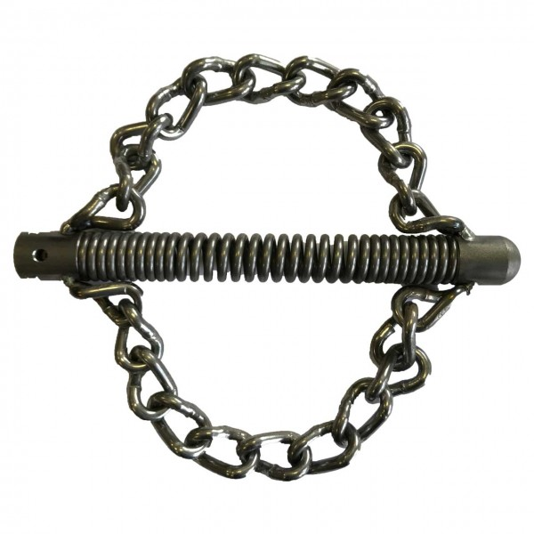 Chain knocker with 22mm T-Nut of rak, 2 smooth chains