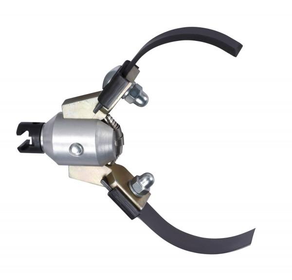 """Tête de coupe à expansion avec 32mm coupleur en T (1.1/4"""")"""
