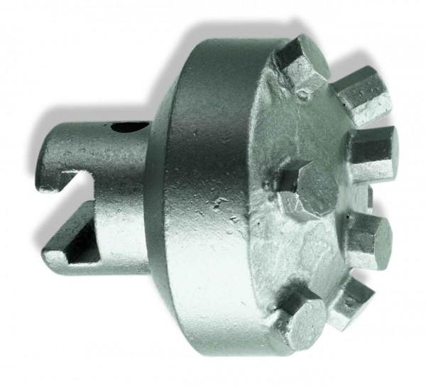 "Hartmetallbohrkopf - 32mm T-Nut (1.1/4"") - runder Kopf"