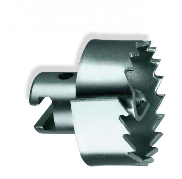 """Tête de coupe en dents de scie en spirale pour 22mm coupleur en T (7/8"""")"""