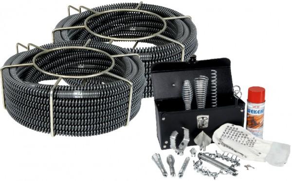 Spirales avec noir âme en set avec outils 16mm & 22mm