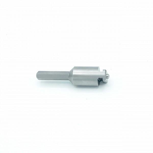 Adapter Sechskant auf 16mm T-Nut für Bohrmaschine