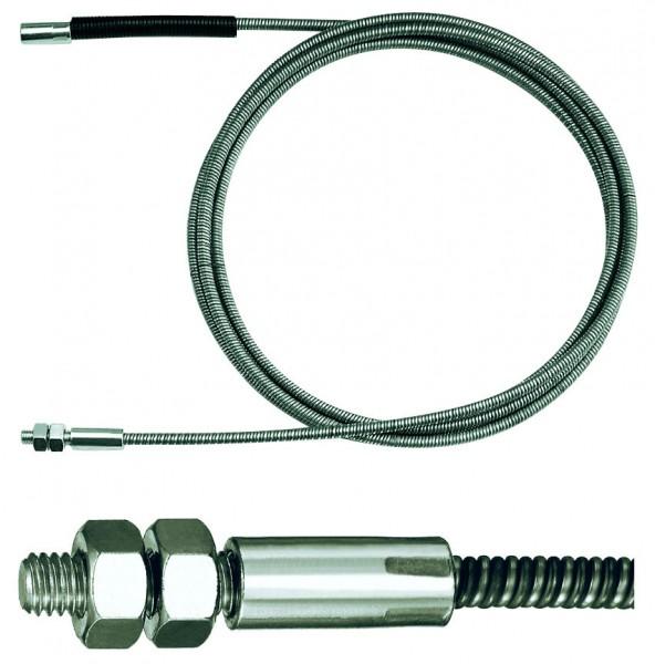 Verlängerung Ø 12mm für Rohrreinigungsspirale mit Gewindekupplung