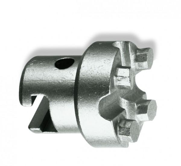 """Tête de forage en carbure - 32mm coupleur en T (1.1/4"""") - en-tête de la chargeuse"""