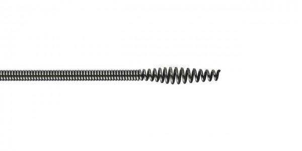 "Spirale déboucheuse à tête bulbe Ø 8mm / 5/16"""