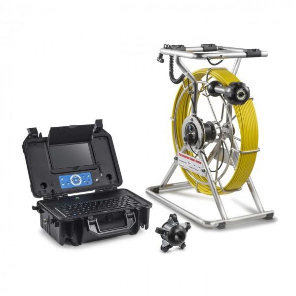 Caméra d'inspection de tuyaux 60m avec tête de caméra 38mm